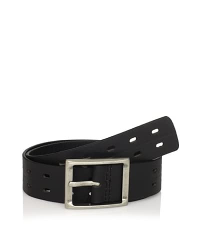 J.Campbell Los Angeles Men's Perforated Belt  [Black]