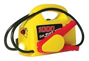 Clore CS1000 CarStart Ultra-Portable 900 Peak Amp Jump Starter with 12-Volt  Power and Flashlight
