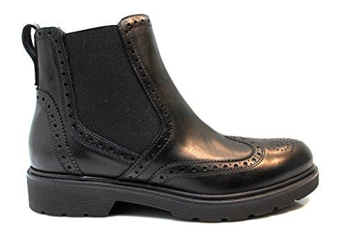 Nero Giardini A616178D Nero Polacchine Scarpe Donna Stile Inglese Fashion