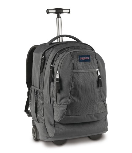 Jansport Driver 8 Wheeled Backpack - Forge Grey