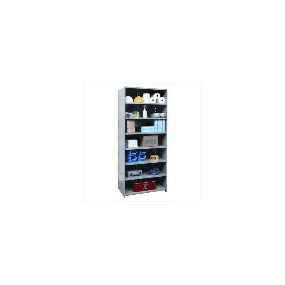 Hallowell A423/423 Hi Tech Shelving Medium Duty Closed Type Starter and Optional Add on Unit with 8 Shelves