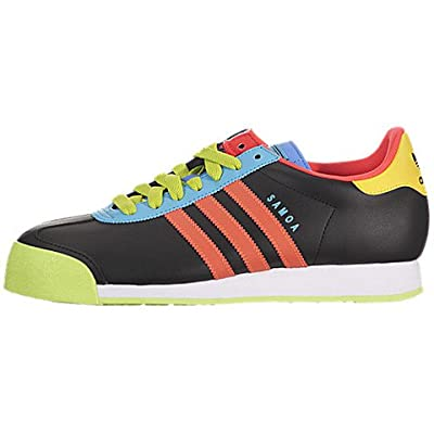 SAMOA Black/ Warning / Neon Blue G66839: Fashion Sneakers: Shoes