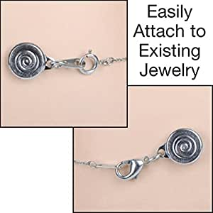 locking magnetic clasps set of 4 silver by jumbl