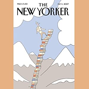 The New Yorker (October 1, 2007) | [Hendrik Hertzberg, Seth Hettena, Nick Paumgarten, Austin Kelley, Jeffrey Frank, Louis Menand, John Updike, Anthony Lane]