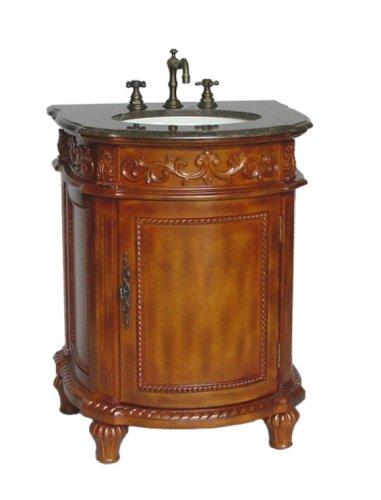 Buy Model HF0209B Marble top Camelot bathroom sink vanity (Chans Furniture Sinks, Plumbing, Sinks, Bathroom, Consoles)
