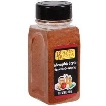 Blazin Blends Memphis Style Barbecue Seasoning 9 oz 1 bottle (639277576156)