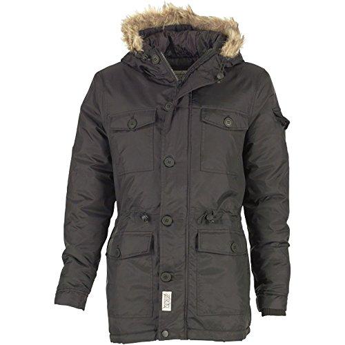 Schwarz Dstruct Herren Taschen Winter Parkajacke Schwarz kaufen