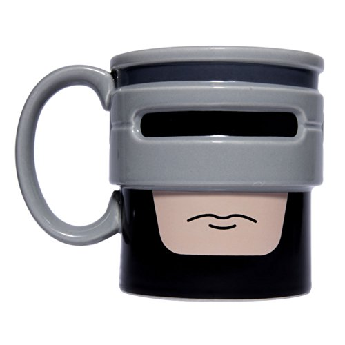 Thumbs Up Robocup 80s Movie Ceramic Mug.  Enforce the law while drinking tea!