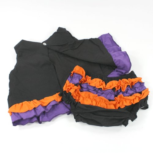 Swing Back Top And Bloomer Set Halloween (6-9 Months) front-851402