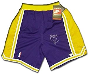 Magic Johnson Autographed Hand Signed Los Angeles Lakers Heavyweight Pro Model...