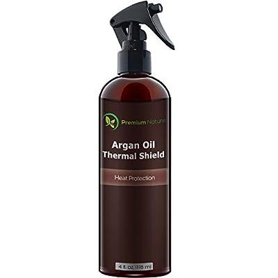 Argan Oil Hair Protector Spray 4 oz by Premium Nature