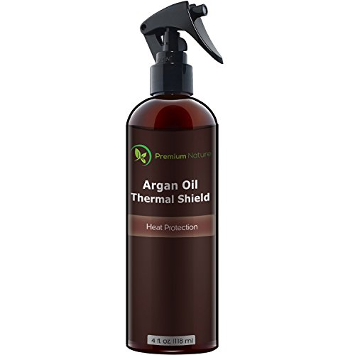 Argan Oil Hair Protector Spray 4 oz by Premium Nature (Fusion Heat Wand compare prices)