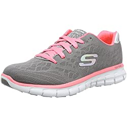 skechers SYNERGY-MOONLIGHT MADNESS - Zapatillas para mujer, color gris