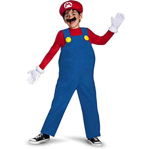 Super Mario Deluxe Kids Costume