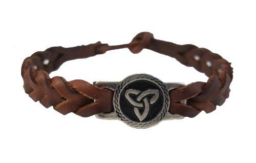 Amethyst Dublin Trinity Knot Friendship Bracelet Braided