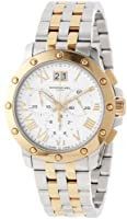 Raymond Weil Men's 4899-STP-00308 Tango Gold and Steel White Chronograph Watch by Raymond Weil