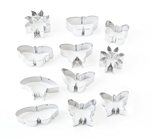 Tin Cutting Tools Arts And Crafts Butterfly