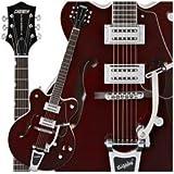 Gretsch Guitars G5122 Double Cutaway Electromatic Hollowbody Electric Guitar, Walnut Stain