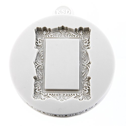 Miniature Frames - Vintage Rectangle Embellishment Cake Mold