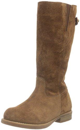 UnisaGAGA_BS - Stivali alti con imbottitura leggera Bambina , Marrone (Braun (Tobacco)), 27