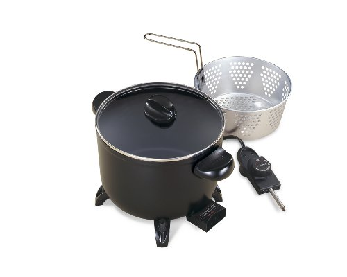 Best Review Of Presto 06006 Kitchen Kettle Multi-Cooker/Steamer