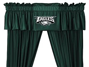 NFL Philadelphia Eagles - 5pc Jersey Drapes-Curtains and Valance Set by Store51