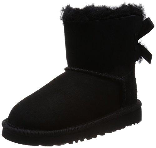 ugg-mini-bailey-bow-chaussures-premiers-pas-mixte-bebe-noir-nero-235-eu