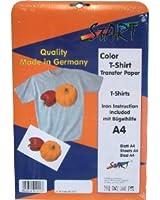 Start-Europe - 20 Feuilles DIN A4 Super Film transfert Jet d'encre pour T-Shirts (tissus clairs) - Transparents transferts à imprimer sur tissus blancs/couleurs clairs comme T-Shirts, Basecaps, Sweatshirts, Sacs cottoniers etc. - convient pour toutes sortes Jet d'encre et marques - Aussi pour imprimés d'haute définition - Top Pelliculage - Papier de Qualité - Pour imprimés digitales - Garantie d'usinage sans complications et résultat de qualité - Instruction détaillé lessiviel et mode d'emploi