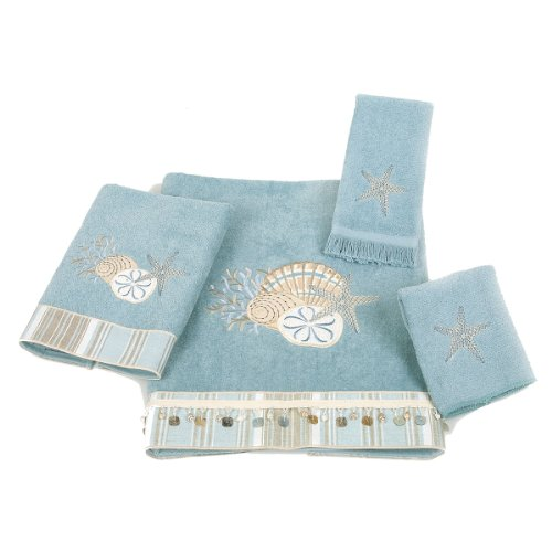 Avanti By The Sea 4-Piece Towel Set, Mineral