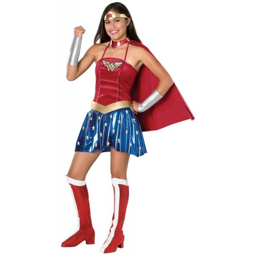 Justice League DC Comics Wonder Woman Teen Costume - Kid's Costumes