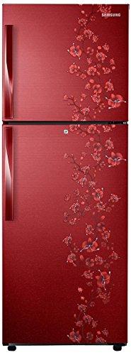 Samsung RT27HAJSARX Frost-free Double-door Refrigerator (253 Ltrs, 3 Star Rating, Orcherry Garnet Red)