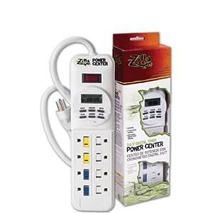 Zilla 11893 24/7 Digital Timer Power Center, 1875-Watt