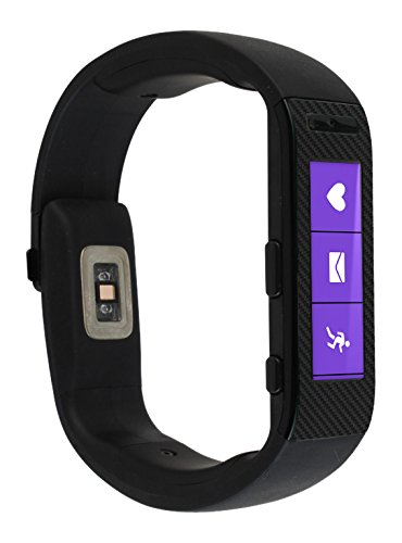 skinomir-techskin-microsoft-band-screen-protector-carbon-fiber-full-body-skin-protector-with-free-li