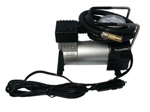Hausbell (TM) Brand New Car Air Station Inflator -Electric Air Compressor Portable Air Compressor 9A 12V DC 30L/MIN Max Pressure 250PSI