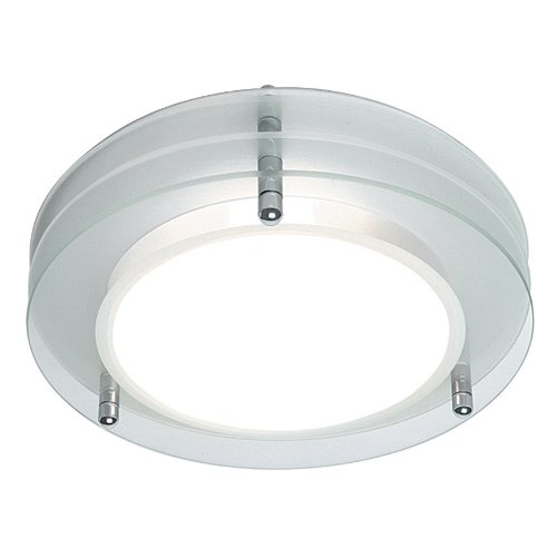 Astro 0203 E27 Strata Round Ceiling Light excluding 1 x 60 Watt 230 V Bulb, Frosted