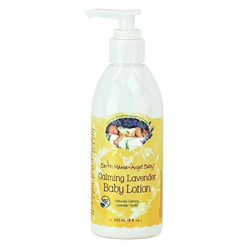 Earth-Mama-Angel-Baby-Calming-Lavender-Baby-Lotion-Moisturizing-for-Sensitive-Skin-Natural-Lavender-Vanilla-Scent-8-fl-oz