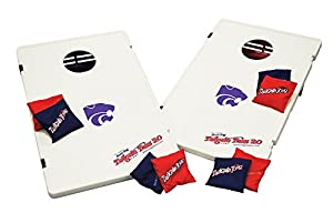 Kansas State University Plastic Cornhole Bean Bag Toss Yard Game