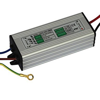 Rayshop - Jiawen® 20W 600Ma Led Power Supply Led Constant Current Driver Power Source (Ac 85-265V Input / Dc 28-36V Output)