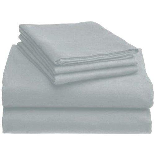 Marrikas Flannel Sheet Set Queen Grey front-885078