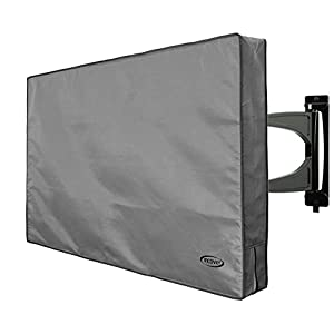 "InCover 42"" Outdoor TV Cover - Water and Dust Resistant - Fits over most TV Mounts and Stands - Built-in pocket for TV Remote"