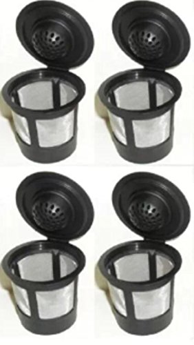 Pack of 4 ValueCafe Coffee Filter Replacement for Keurig Home Single Cup Brewing Systems, Pack of 4 - NOT for Keurig 2.0 (Keurig Coffee Reusable compare prices)
