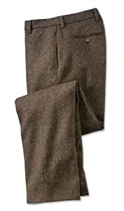 Orvis County Donegal Tweed Pants, Brown Mix, 42W X 27 1/2L