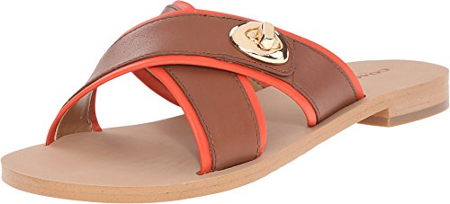 Coach Coral Women US 9.5 Tan Slides Sandal (Coach Slide Wedges compare prices)