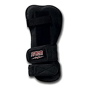 Storm Xtra-Roll Left Hand Wrist Support, Black, Medium