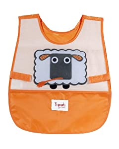 3 Sprouts Art Smock, Sheep