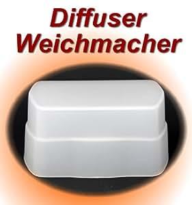 Impulsfoto Diffusor, Weichmacher, Bouncer, Softbox für Nissin Speedlite Di622 Di 622 , Canon und Nikon