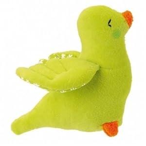 Kathe Kruse Bird Grabbing Toy, Green
