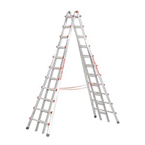 Little Giant Ladder #10121 Model 21 Skyscraper MXZ Telescoping A-Frame Type 1A 300 lb rated