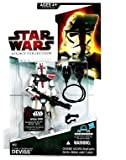 Star Wars Action Figure Legacy Collection - Clone Commander Deviss (Droid Piece may vary)