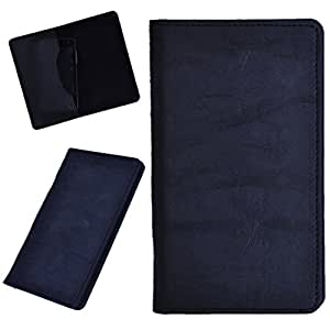 DCR Pu Leather case cover for XOLO Q500 (black)